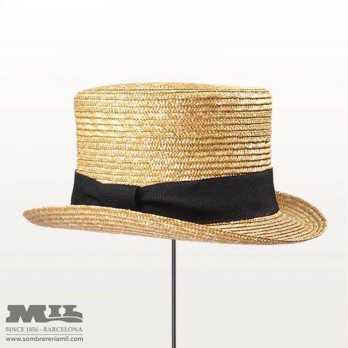 Straw Top Hat