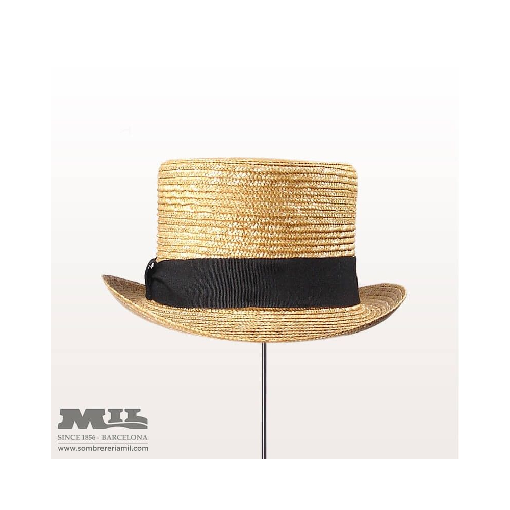 Sombrero Straw Top Hat